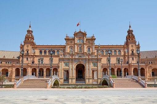 Regional Parliament, Spain, Andalusia, Architecture
