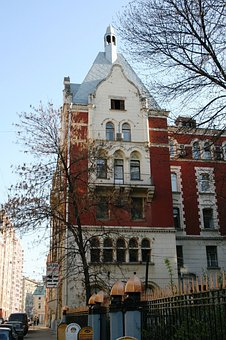 Architecture, Russian, House, Building, Brick