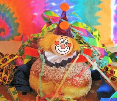 Carnival Berlin, Carnival Clown, Kunterbunt