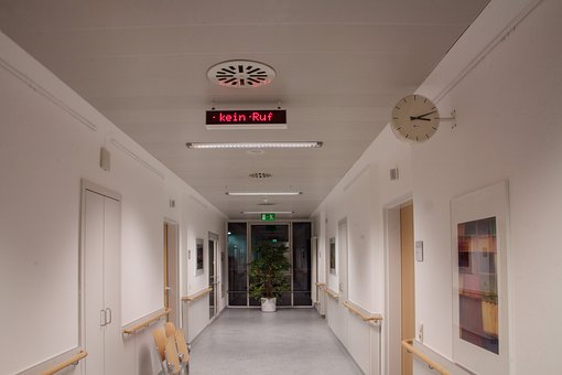 No Call, Hospital, Ad, Display, Ceiling Lighting, Vent