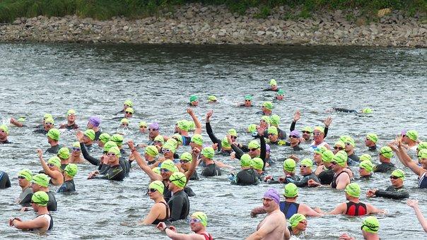 Triathlon, Event, Dresden, City Triathlon