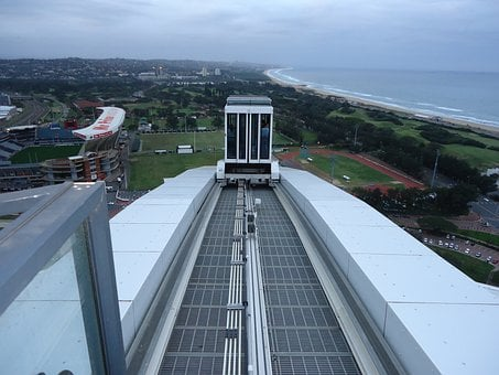 Skycar, Durban, Moses Mabhida Stadium, South Africa