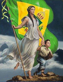 Brazilian Monarchy, Brazil, Empire, Crown, Brasileira