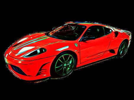 Ferrari, F430, Car, Racing Car, Road, Colorful, Tourism