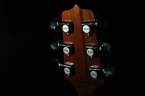 Tuners, Guitar, Head Stock, Musical, Instrument, Music