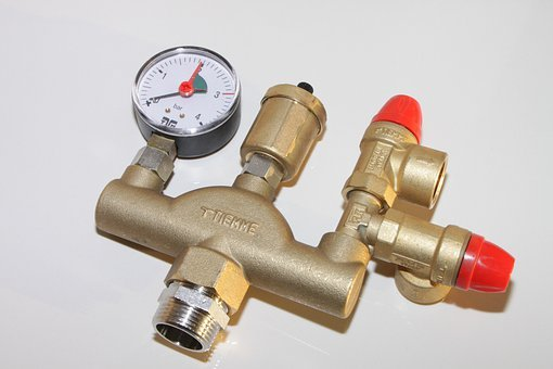 Air Vent, Boiler, Brass, Group, Heating, Manometer