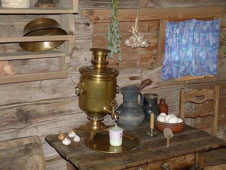 Russia, Historically, Golden Ring, Building, Farmhouse