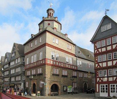 Herborn, Germany, Historic Center, House