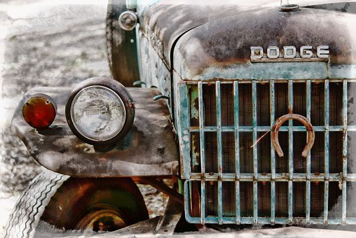 Old Truck, Dodge, Rust, Rusted, Truck, Junk, Automobile