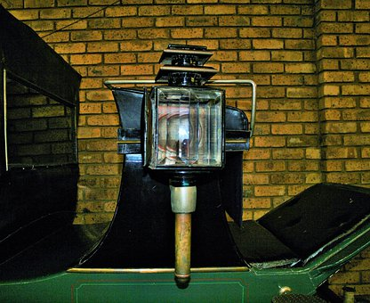 Carriage Lamp, Lamp, Light, Vehicle, Carriage