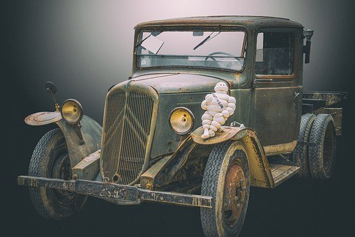 Utility, Truck, 1950, Car, Auto, Old Car