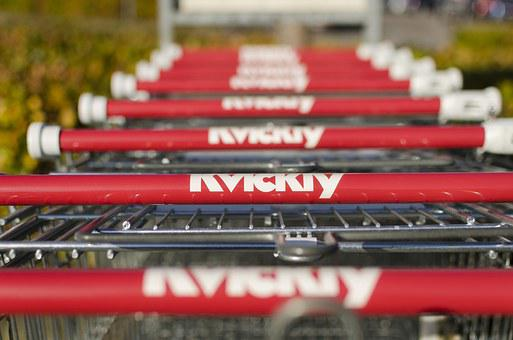 Shopping Cart, Groceries, Shopping, Supermarket, Market