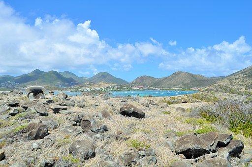Ile, Saint-martin, Arid, Sky, Nature, Side, Caribbean