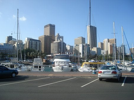Durban, South, Africa, Harbor, Harbour City