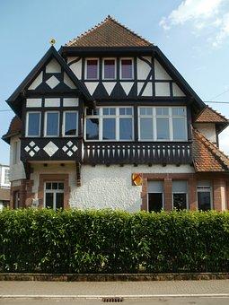Schwetzingen, House, Timber Framing, Architecture