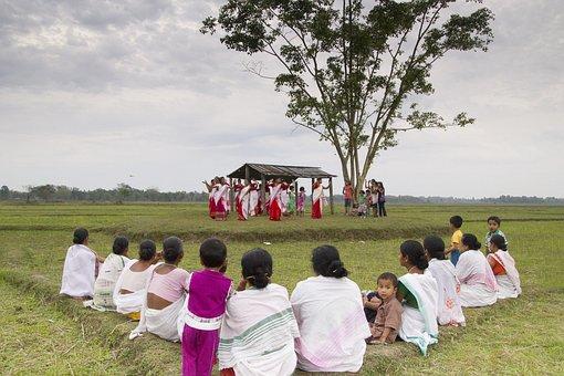 Bihu, Dance, India, Assam, Travel, Culture, Vacation