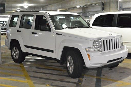 Truck, Vehicle, Transport, Garage, For Rent, White