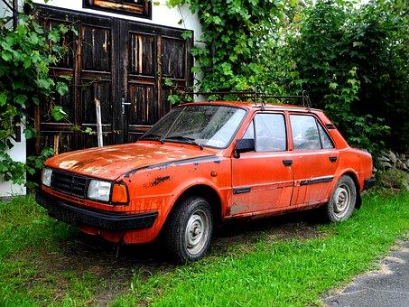 Auto, Skoda, Veteran, Automobile