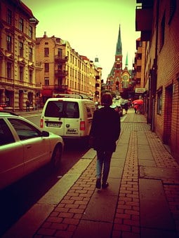 Gothenburg, Church, Oscar Fredrik, Tank Top, Walk