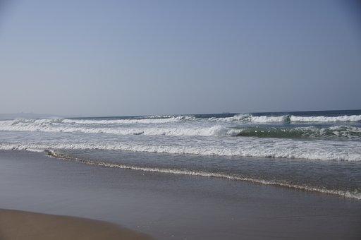 Ocean, Indian Ocean, South Africa, Durban, Wave, Beach