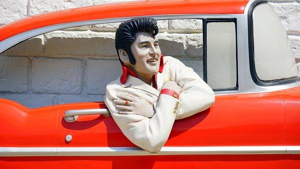 Automobile, Automotive, Bel Air, Car, Elvis Presley