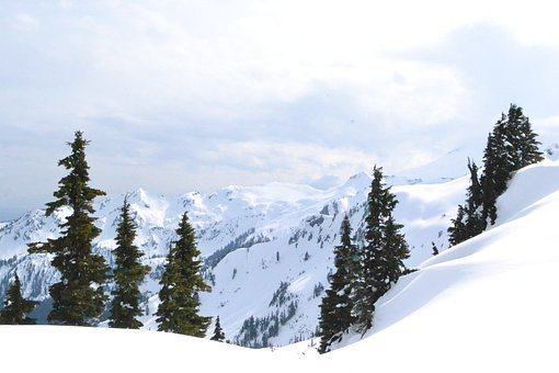 Mt Baker, Backcountry, Skiing, Mountain, Landscape
