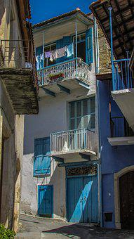 Backstreet, Village, House, Old, Architecture