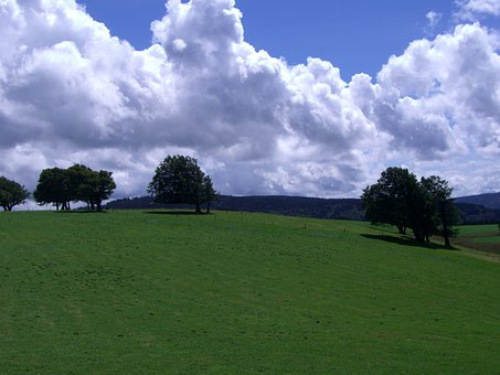 Weather Book, Schauinsland, Black Forest, Clouds