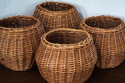 Basket, Collection, Collect, Collection Basket, Church