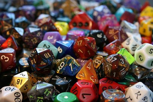 Cube, Play, Role Playing Game, Craps, Colorful