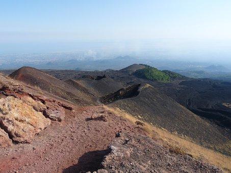 Etna, Sicily, Nature, Volcano, Leisure, Trekking
