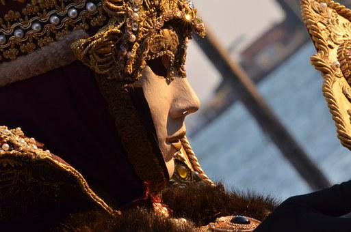 Carnival, Mask, Venice, Rosa, Rose, 2015, Fun, Confetti