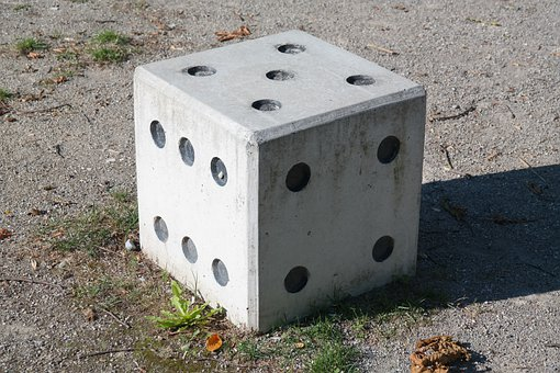 Cube, Instantaneous Speed, Gambling, Four, Five, Square