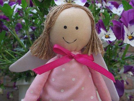 Guardian Angel Doll, Faith, Sweet, Deco