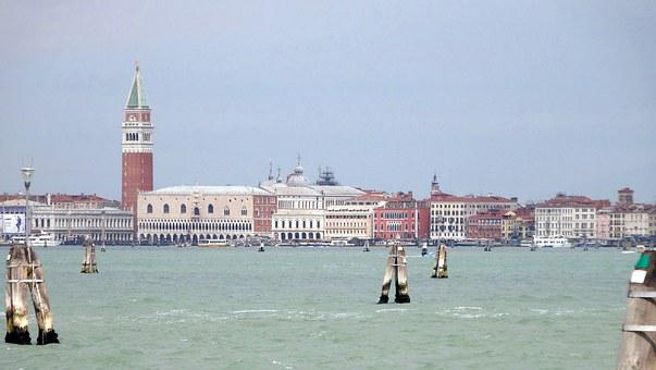 Venice, Italy, Doge's Palace, Campanile
