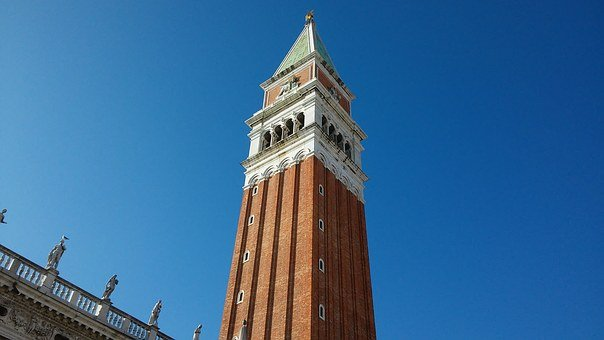 Venice, Italy, St Mark's Square, Campanile, Bell Tower
