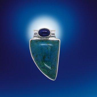 Gems, Jewellery, Trailers, Silver Jewelry, Bluish, Blue