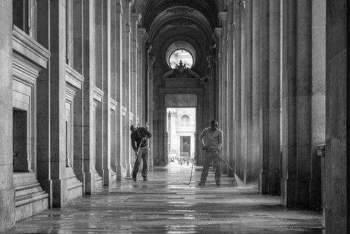 Paris, Louvre, Places Of Interest, France, Museum