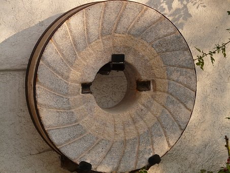 Millstone, Mill, Grind, Stone