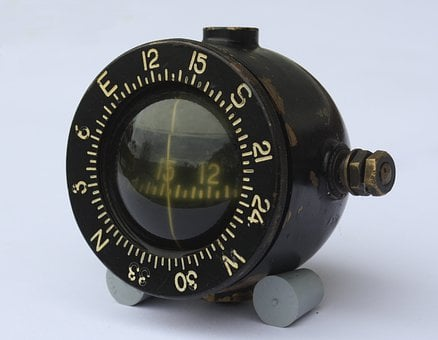 Compass, Antique, Old, Compass Point, Navigation