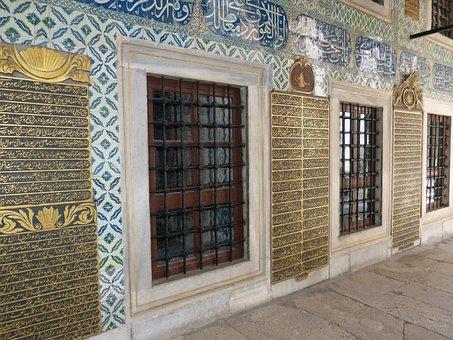 Istanbul, Palace, Castle, Historically, Sultan, Topkapi
