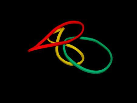 Rubber Band, Colorful, Red, Green, Yellow, Rubber