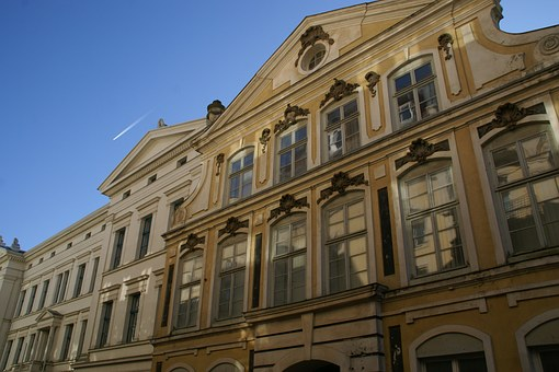 Schwerin, House, Facade, Germany, Architecture