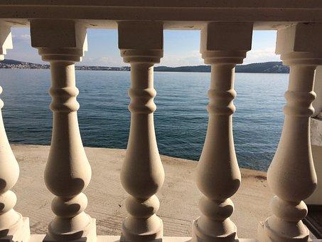 Balcony, Stone, View, House, Tourism, Mediterranean