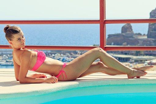 Summer, Bikini, Sexy, Woman, Exposure To The Sun