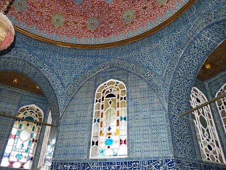 Istanbul, Turkey, Topkapi, Palace, Castle, Sultan