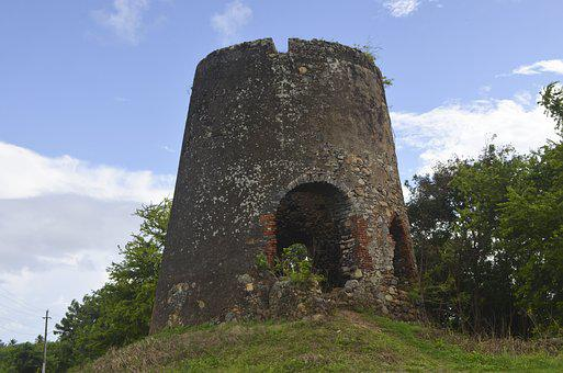 Village Brook, Old Structure, Monument