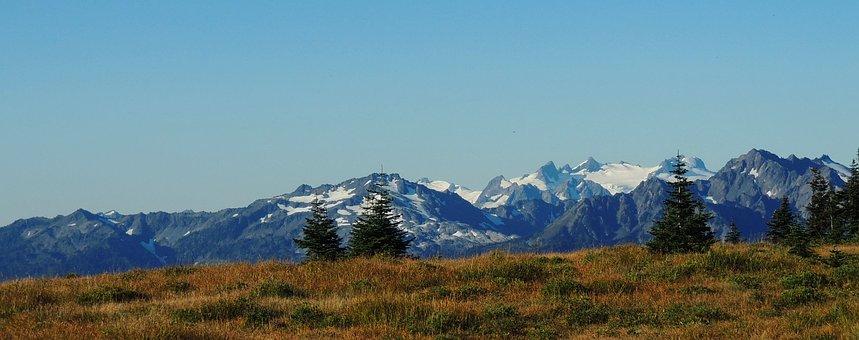 Olympic National Park, Washington, Mountains, Landscape