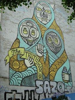 Graffiti, Berlin, The Truth Machine, 2014, Goal Street