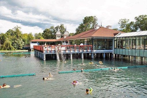 Hevíz, Thermal, Lake, Spa, Bathing, Known, Famous